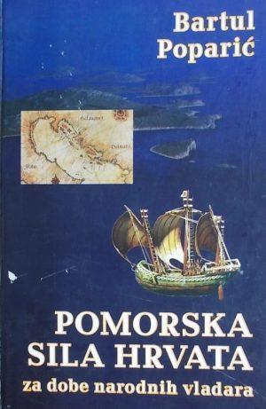 Poparić: Pomorska sila Hrvata za dobe narodnih vladara