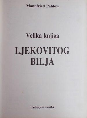 Pahlow: Velika knjiga ljekovitog bilja