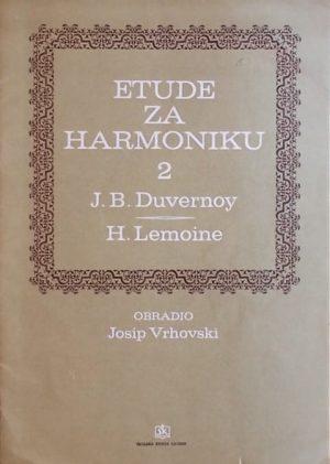 Duvernoy, Lemoine: Etude za harmoniku 2