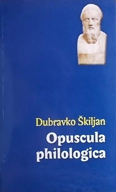 Škiljan: Opuscula philologica