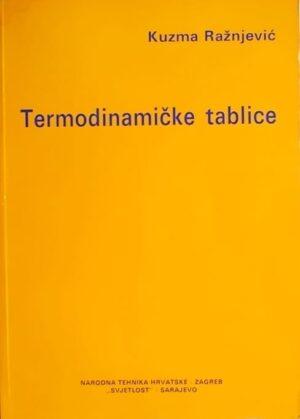 Ražnjević-Termodinamicke tablice