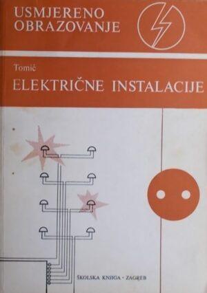 Tomić: Električne instalacije