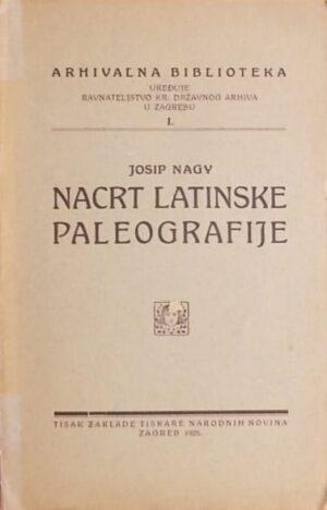Nagy-Nacrt latinske paleografije