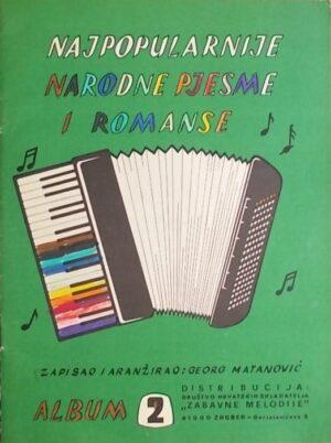 Najpopularnije narodne pjesme i romanse: album 2