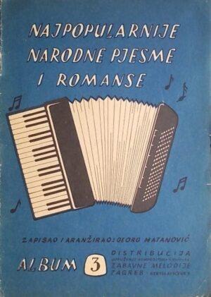Najpopularnije narodne pjesme i romanse: album 3