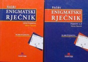 Ojsteršek-Veliki enigmatski rječnik
