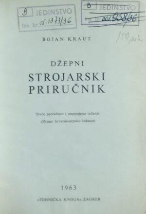 Kraut-Džepni strojarski priručnik
