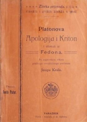 Platonova Apologija i Kriton