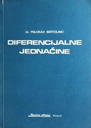 Bertolino: Diferencijalne jednačine