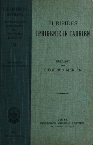 Euripides Iphigenie in Taurien