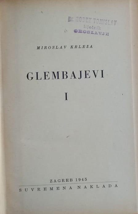 Krleža-Glambajevi 1