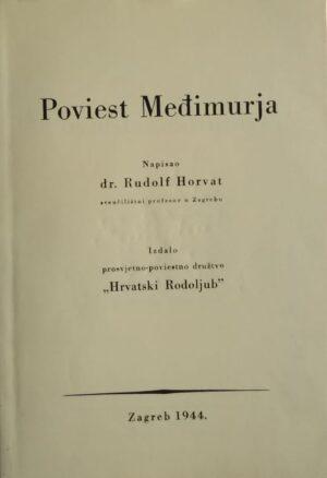 Horvat-Poviest Međimurja