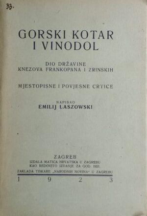 Laszowski-Gorski kotar i Vinodol