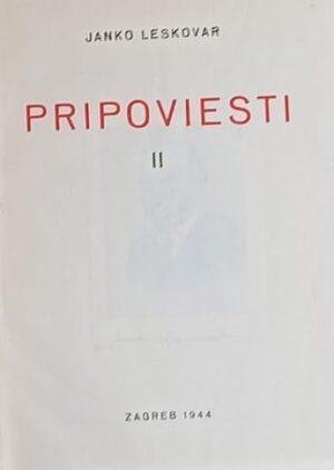 Leskovar-Pripovijesti II