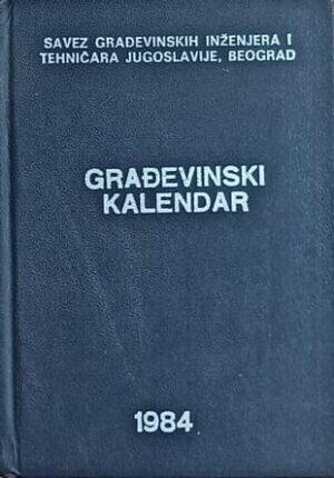 Građevinski kalendar 1984
