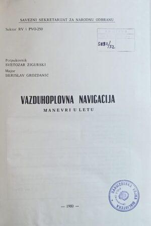 Žigurski, Grozdanić: Vazduhoplovna navigacija