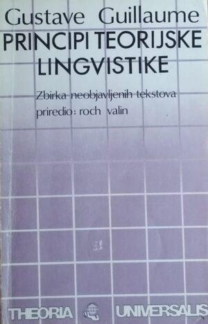 Guillaume: Principi teorijske lingvistike
