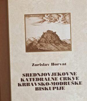 Horvat-Srednjovjekovne katedralne crkve kKbavsko-modruške biskupije