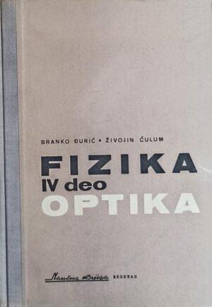 Đurić, Ćulum: Fizika: IV deo: optika