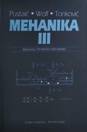 Pustaić, Wolf, Tonković: Mehanika III.