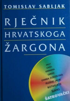 Sabljak: Rječnik hrvatskoga žargona