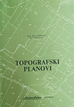 Živković: Topografski planovi